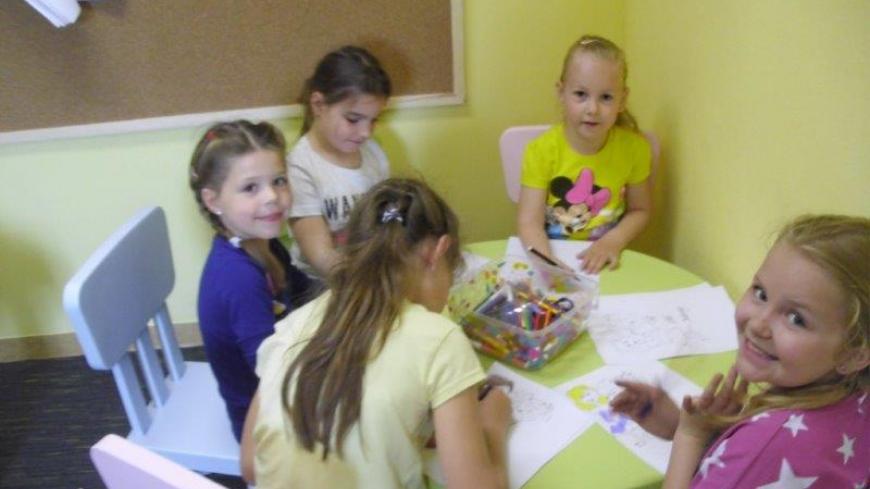 Zajęcia w oddziale dziecięcym