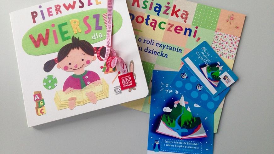 """""""Mała książka – wielki człowiek"""" - Wyprawki Czytelnicze dla dzieci urodzonych w 2015 roku"""