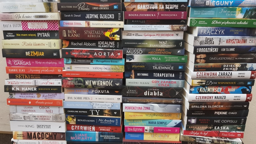 Dotacja na zakup nowości książkowych