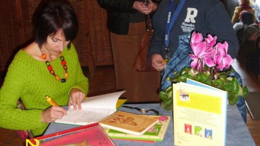 Spotkanie autorskie z Agatą Widzowską-Pasiak
